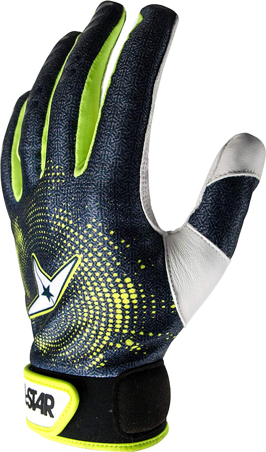 all-star-adult-full-palm-baseball-catchers-inner-protective-glove-adult-x-large CG50001A-XL All-Star 029343048609 Lightweight and thin palm and finger pads absorb and spread shock