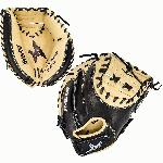 33.5 Inch Catcher's Training Model Closed web Designed for training purposes only Weighted design. he All-Star Anvil catcher's mitt is a multi-purpose trainer that uses added weight to improve receiving and transfer skills. Starting with the game's most popular 33.5 pattern, over 2lbs. of weight is evenly added to the thumb and pinky pads. This version of weight training helps strengthen those, hard-to-get-to small muscles that help with receiving pitches quietly and speeding up transfer times. - 33.5 Inch Catcher's Training Model - Closed web - Designed for training purposes only - Weighted design.