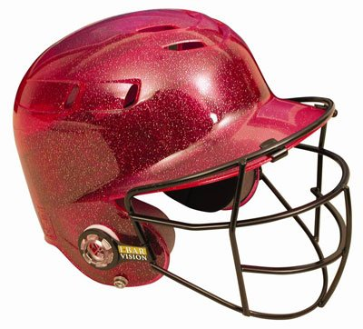all-star-bh6100ffg-batting-helmet-with-faceguard-and-metalic-flakes-scarlet BH6100FFG-Scarlet All-Star New All-Star BH6100FFG Batting Helmet with Faceguard and Metalic Flakes Scarlet