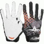 ALL-STAR CG5000A D30 Adult Protective Inner Glove (Medium, Left Hand) : All-Star CG5000A D30 Adult Protective Inner Glove is designed for both catching and fielding. Lightweight and thin D30 palm and finger pads absorb and spread shock over a larger surface area. Limiting the amount of nerve damage in the hand after repeated hard balls. Padding extends all the way to the wrist for those wild bad hops and all the way up through the index finer. Extra padding on side wrist bone. Palm of hand is constructed with white goat skin leather and the back is a seamless moisture wicking stretch back.