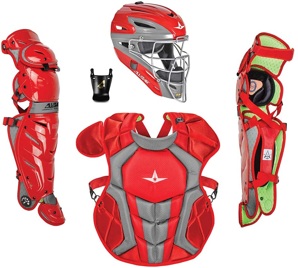 all-star-ckcc1216s7x-s7-axis-catchers-set-ages-12-16-scarlet-black CKCC1216S7XS-SBK   <span>The All-Star System7 Axis Intermediate Catchers Set meets NOCSAE safety standards