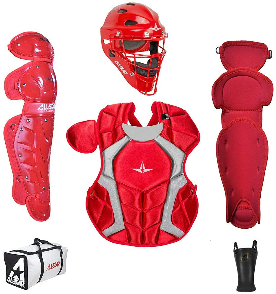 all-star-ckcc912pssc-players-series-catching-kit-nocsae-ages-9-12 CKCC912PS-SC   All Star Youth Players Series Catchers Kit 9-12Outfit your young catcher