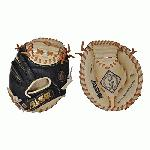 This vintage style catching mitt modernized with the All-Star blacktan leather is a tool recommended by catchers, coaches, and teams for developing the fastest transfer speeds.