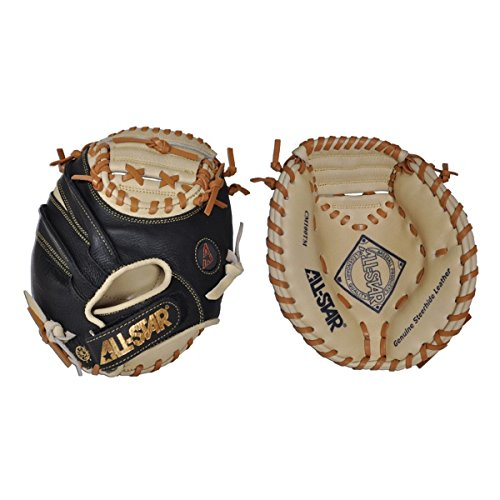 all-star-cm1000tm-the-donut-baseball-catchers-training-mitt-right-handed-throw CM1000TM-Right Handed Throw All-Star 029343019654 This vintage style catching mitt modernized with the All-Star blacktan leather