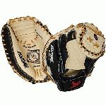 The CM3030 is an entry level adult sized mitt offering many features found in the elite level gloves. Pre-softened leather on the inside of the mitt allows for instant break-in and the black leather backing provides more support. Pro formed pocket, profiled toe, and Flex Action crease make this a fantastic catchers mitt. All Star CM3030 Catcher's Mitt Features: Pre-softened leather Instant break-in Black leather backing Pro formed pocket Profiled toe Flex Action crease.