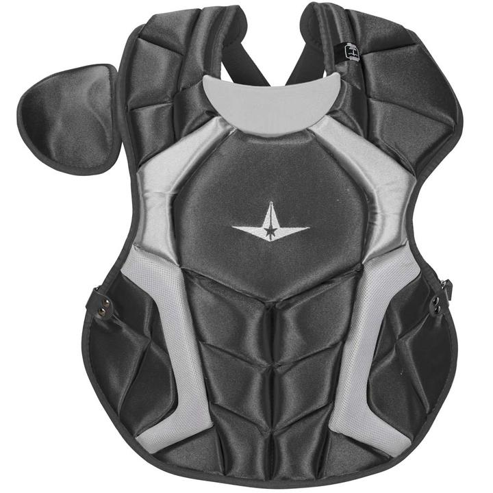 all-star-cpcc1618s7xbk-adult-system-seven-pro-chest-protector-black CPCC1618S7X-BLK All-Star  The S7™ Chest Protector is the only protector that has wedge