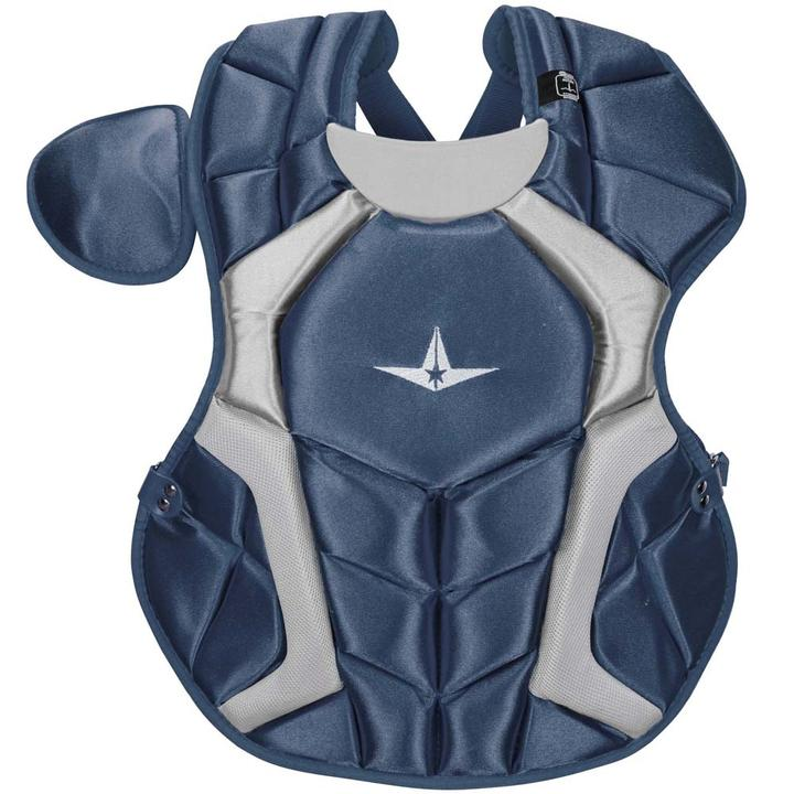all-star-cpcc1618s7xna-adult-system-seven-pro-chest-protector-navy CPCC1618S7X-NA All-Star  The S7™ Chest Protector is the only protector that has wedge