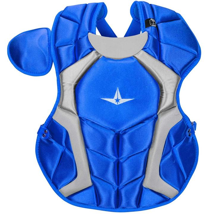 all-star-cpcc1618s7xro-adult-system-seven-pro-chest-protector-royal CPCC1618S7X-RO All-Star  The S7™ Chest Protector is the only protector that has wedge