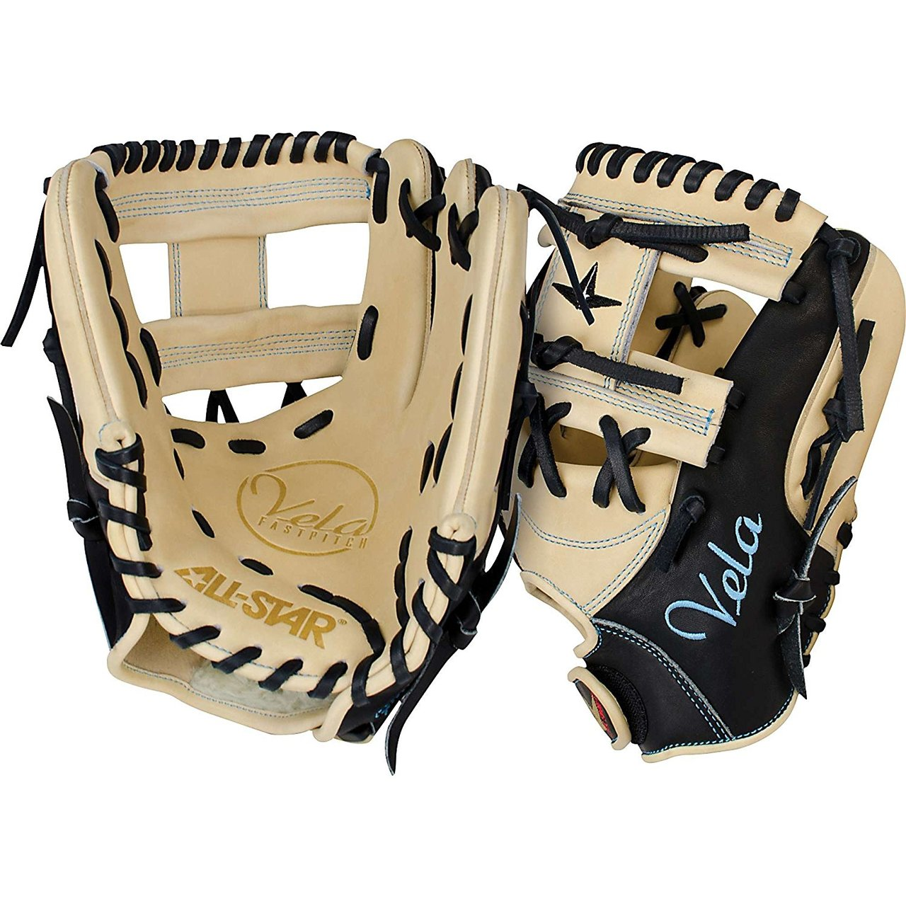 all-star-fgsbv-115-fastpitch-softball-glove-11-5-right-hand-thrower FGSBV-115-RightHandThrow All-Star 029343030413 The Vela 3 Finger series from All-Star features a massive fielding
