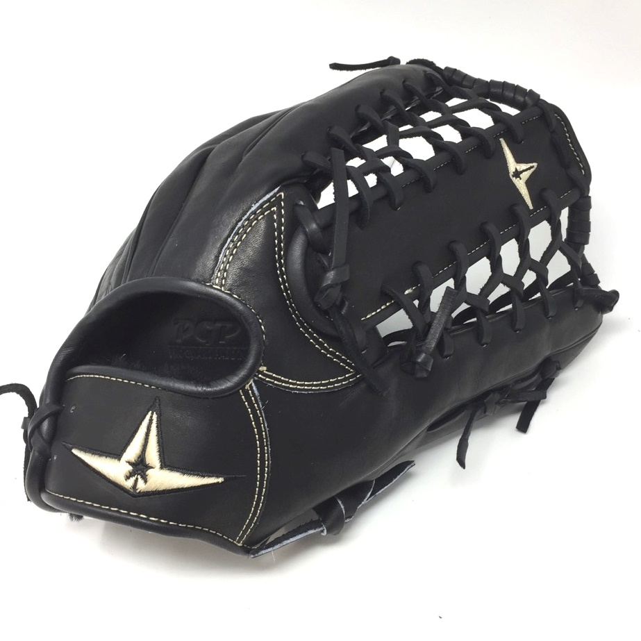 all-star-pro-elite-12-75-outfield-baseball-glove-right-hand-throw FGAS-1275PTBK-RightHandThrow  029343048159 A natural addition to baseballs most preferred line of catchers mitts