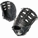 all star pro elite 13 inch fgas fb first base mitt right hand throw black