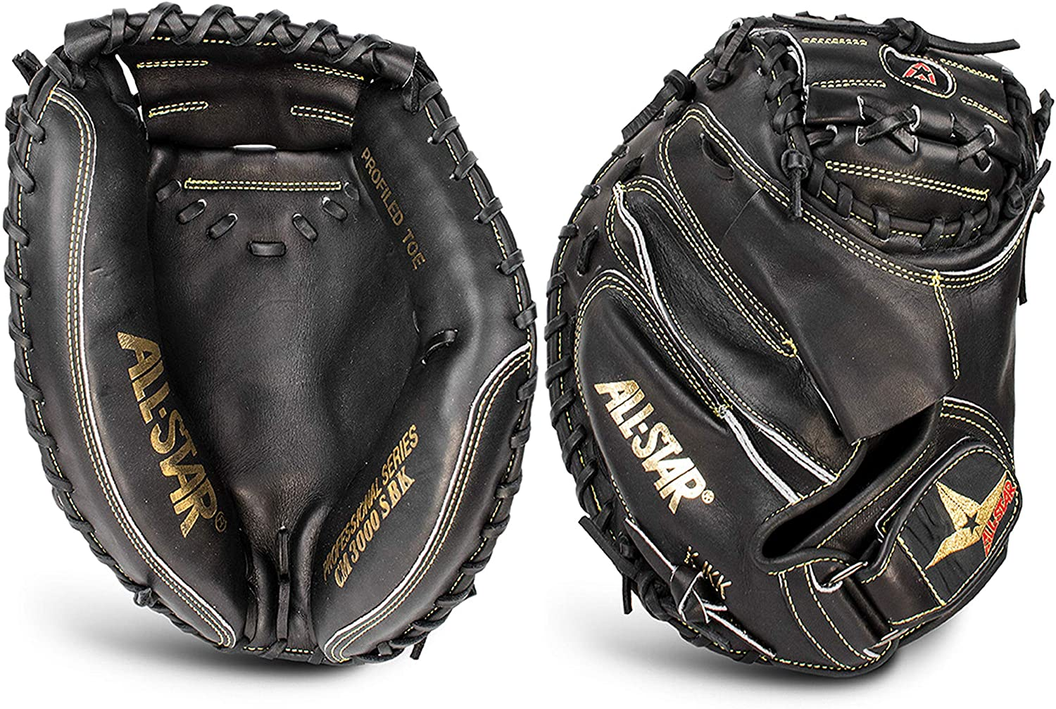 all-star-pro-elite-33-5-professional-catchers-mitt-black-right-hand-throw CM300SBK-1-RightHandThrow   At All-Star Sporting Goods® our motto is simple MOVE FORWARD RISE
