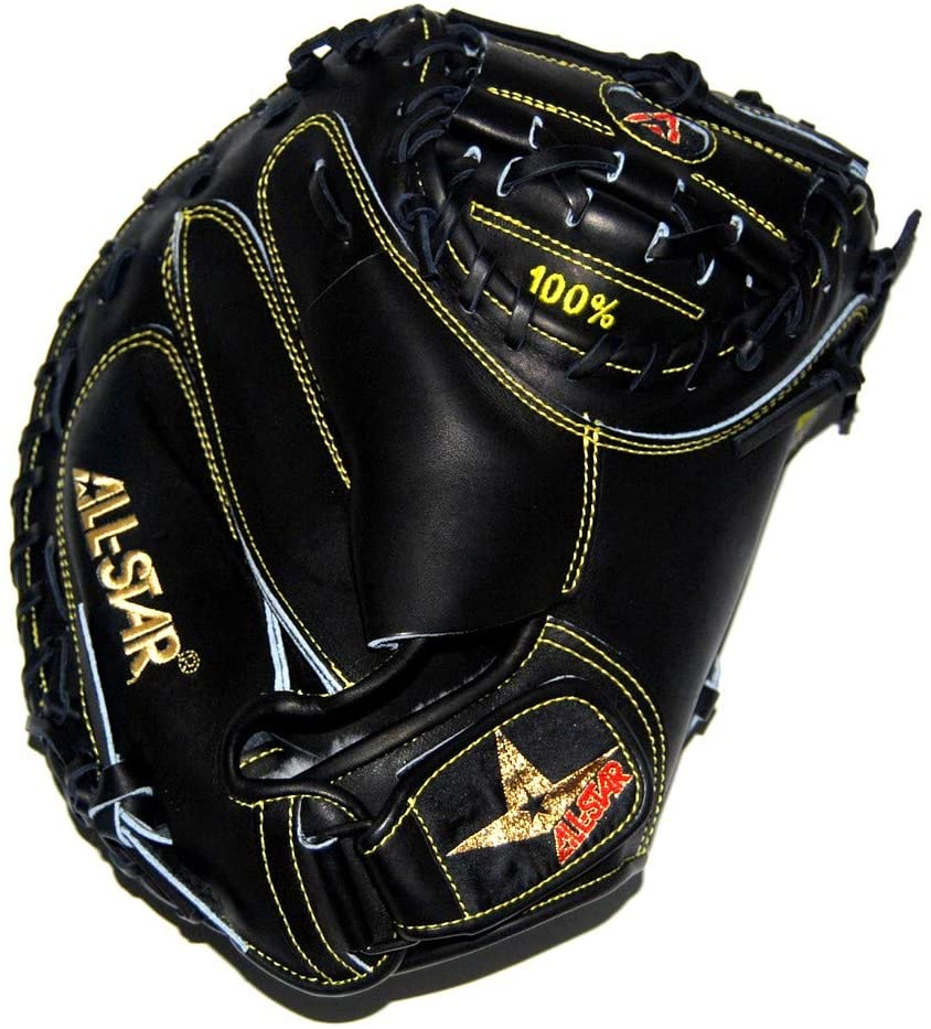 all-star-pro-elite-34-professional-catchers-mitt-black-right-hand-throw CM3000MBK-1-RightHandThrow   The Pro-Elite CM3000MBK as used by Martin Moldonado is a solid