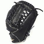 all star pro elite black 11 75 baseball glove modified trap right hand throw