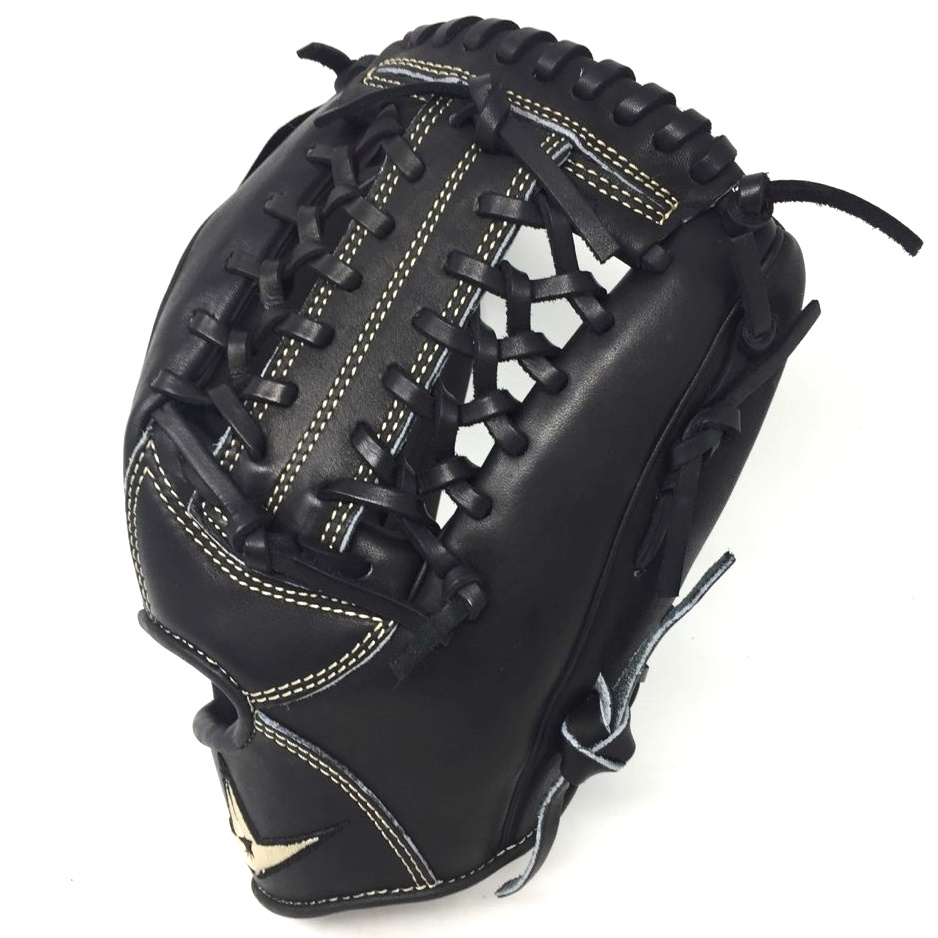 all-star-pro-elite-black-11-75-baseball-glove-modified-trap-right-hand-throw FGAS-1175MTBK-RightHandThrow  029343048234 <span>A natural addition to baseball most preferred line of catchers mitts
