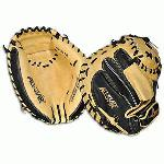 AllStar Pro Elite Catchers Mitt 33.5 Baseball Glove. The CM3000 Series is the mitt of choice for many professional and amature baseball catchers. Exclusive Japanese tanned steer hide allows for fast break in and extended life. Only the finest materials and hand craftsmanship are used to make these exceptional mitts. The soft tan leather pocket allows for great feel and gives the ball that extra POP which pitchers love to hear. The black leather backing is stiffer, gives the mitt the right amount of support, and increases its life.