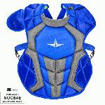 all star s7 axis chest protector 12 16 15 5 royal grey nocsae