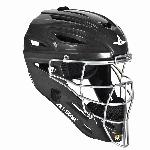all star system 7 catchers helmet fits 7 7 1 2 black