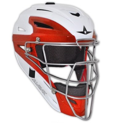 all-star-system-7-two-tone-catchers-helmet-mvp2500wtt-7-to-7-3-4-white-scarlet MVP2500WTT-White-Scarlet  029343001871 All Star System 7 Two Tone Catchers Helmet MVP2500WTT 7 to