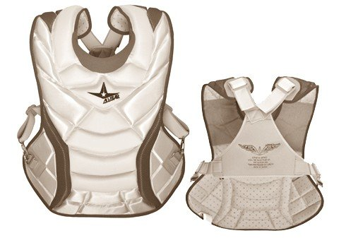 all-star-system-7-womens-chest-protector-13-white-navy CPW13S7-WhiteNavy All-Star 029343020643 The System Seven CPW13S7 is a womens specific professional chest protector