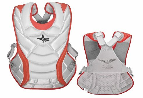 all-star-system-7-womens-chest-protector-14-5-white-scarlett CPW14.5S7-WhiteScarlett All-Star 029343020087 The System Seven CPW14.5S7 is a womens specific professional chest protector
