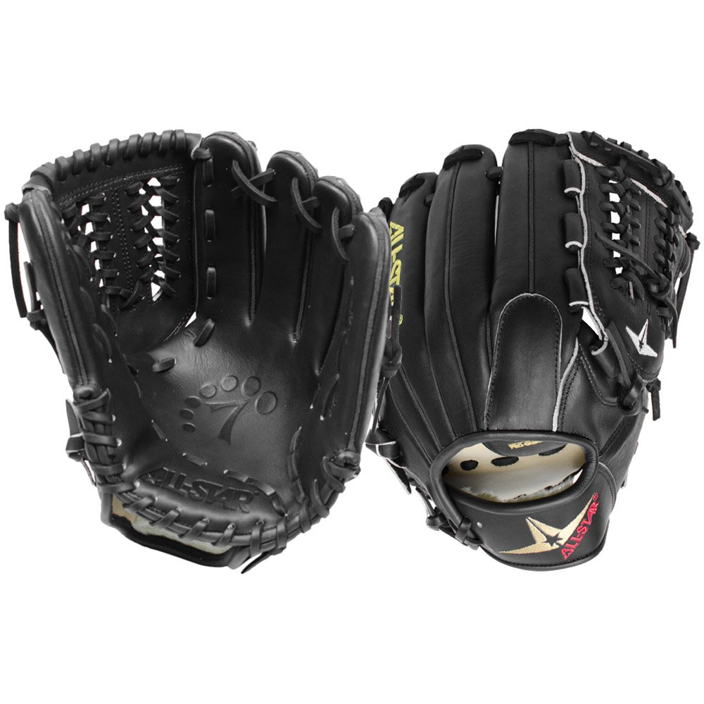all-star-system-seven-fgs7-pibk-11-75-baseball-glove-right-handed-throw FGS7-PIBK-Right Handed Throw All-Star 029343030475 <p>Great for pitchers and recommended for third basemen the System Seven