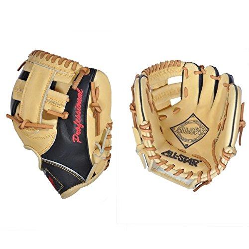 all-star-training-mitt-9-5-inch-fg100tm-right-handed-throw FG100TM-Right Handed Throw All-Star 029343019647 The All-Star The Pick 9.5 inch fielding training mitt is modeled