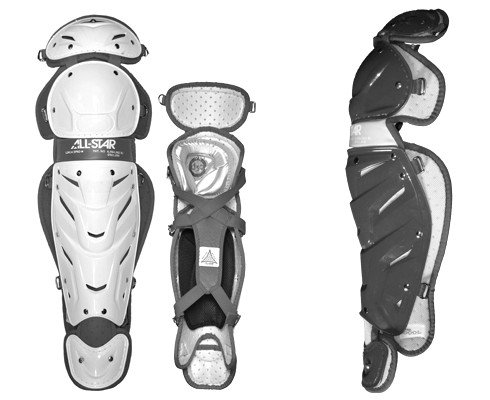 All-star Womens System 7 Leg Guards 13 LGW13S7 (WhiteNavy) : The Women's System Seven leg guards are built with the lightest, most breathable, and durable materials. These provide a true comfort and performance advantage on the field.