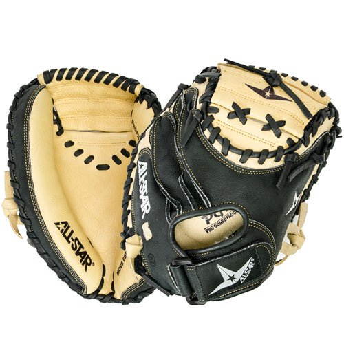 all-star-youth-baseball-catchers-mitt-cm1011-31-5-right-hand-throw CM1011-RightHandThrow All-Star 029343048531 For an entry level mitt the All Star CM1011 Youth Comp