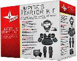 The All-Star CK-UMP Umpire's Starter Kit Black. The All-Star CK-UMP Umpire's Starter Kit is the complete umpire package containing a facemask, chest protector, leg guards, ball bag, plate brush and an indicator. Kit Includes: CPU25 (Chest Protector) The CPU2 is an entry level umpire chest protector. It has a standard foam ribbed front, with plastic molded shoulders backed with foam. Arm extensions slide onto arms and are secured with an adjustable elastic band. Y-Back Harness holds chest protector securely in place. Size: 17 inches Color: Black LP1 (Leg Guards)Single knee cap with extended laminated padding. Wraparound shins and three harness straps keep this leg guard secure. Size: 17 inches Color: Black FM25 (Facemask) Traditional Umpire Face mask Standard wire frame Soft vinyl pad cover Color: Black Umpire UBB2K-GR Accessory Kit Indicator Plate Brush Ball Bag