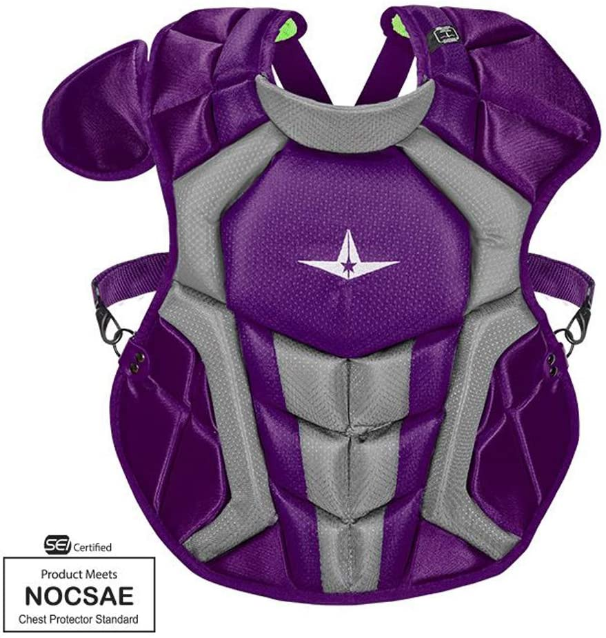 allstar-intermediate-system7-axis-chest-protector-purple CPCC1216S7X-PU