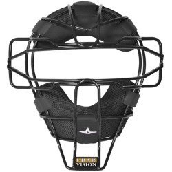 Allstar Lightweight Ultra Cool Tradional Mask Delta Flex Harness Black (Black) : All Star Catchers Mask... Patented Design With Ultimate Protection! All Star Ultra Cool Lightweight Catchers Mask feature: I-Bar Vision design Lightweight Ultra Cool traditional mask Padding surrounds mask providing comfort and dries quickly Patented Delta Flex Face Mask harness Weighs 20.4 oz Colors: Coolest & Lightest Mask Available.