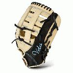 AllStar Vela 3 Finger FGSBV 12.5 Fastpitch Softball Glove 12.5 Inch Right Handed Throw