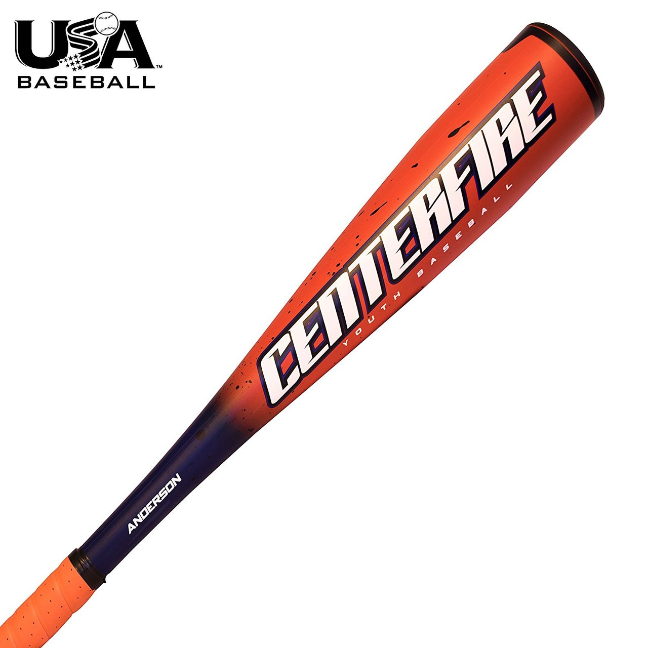 "anderson-2018-centerfire-11-youth-usa-baseball-bat-27-inch-16-oz 015033-2716  874147008522 2 5/8"" Barrel -11 Drop Weight Balanced swing weight for more"