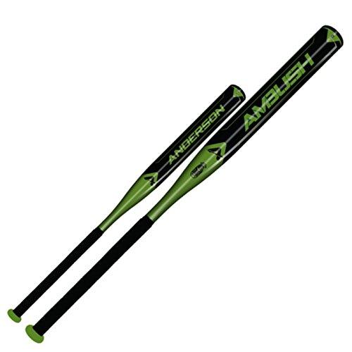 anderson-ambush-slow-pitch-softball-bat-usssa-asa-34-inch-27-oz 011040-34-inch-27-oz Anderson 874147007389 The Anderson Ambush Slow pitch Bat Features One-Piece Design AB9000 Composite