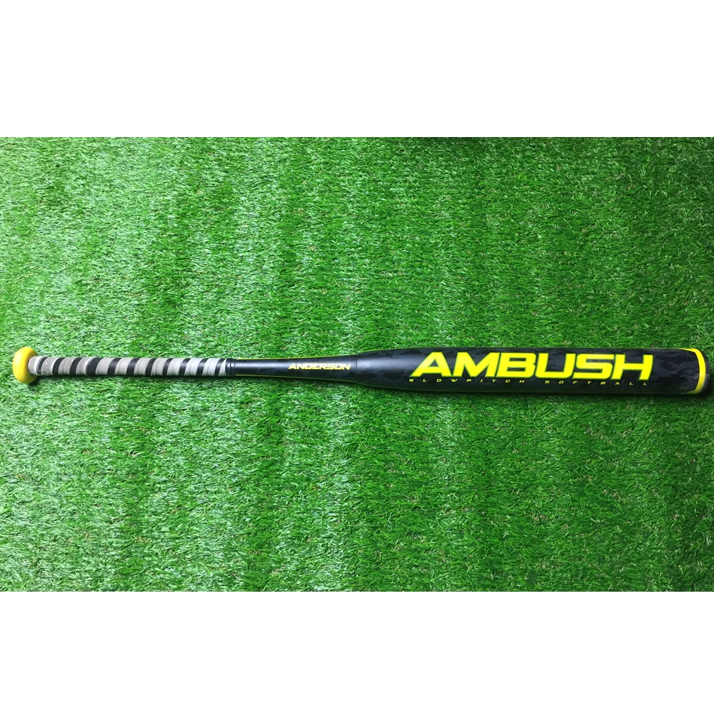 anderson-ambush-used-asa-slowpitch-softball-bat-34-inch-30-oz ANDERSON-0001 Anderson  <p>Anderson Ambush slowpitch softball bat. ASA. Used. 30 oz.</p>
