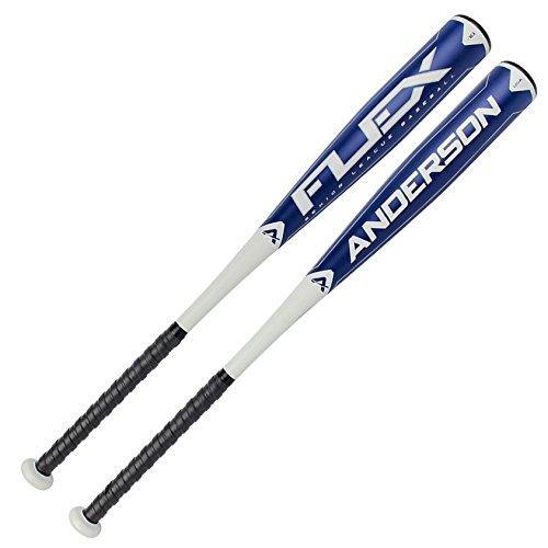 anderson-flex-10-baseball-bat-2-3-4-barrel-31-inch-21-oz 013018-31-inch-21-oz Anderson 874147006924 The Anderson Flex -10 Senior League 2 34 Barrel bat is