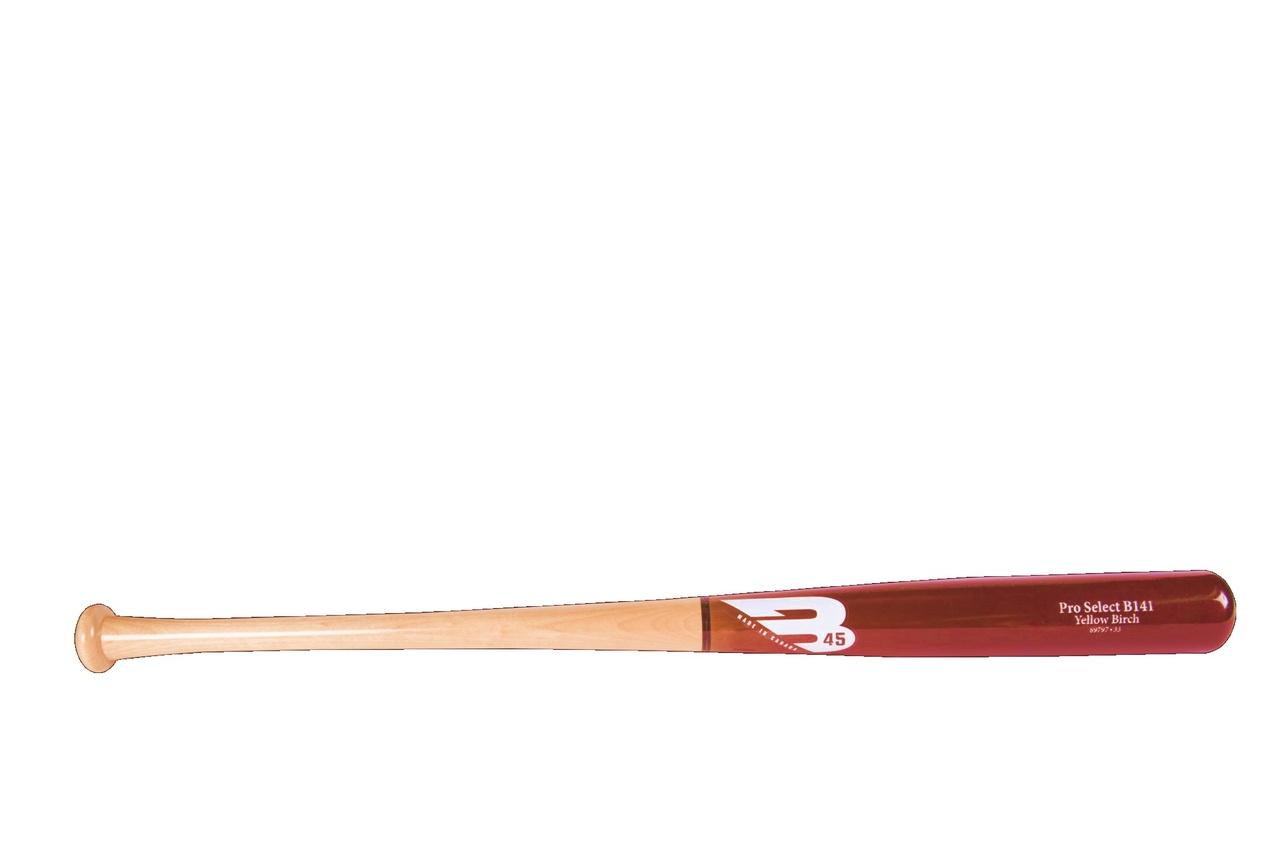 b45-yellow-birch-wood-baseball-bat-b141-30-day-warranty-32-inch 92451-32  647369613221 30-day warranty included Handle 0.94 in Barrel 2.46 in small Weight