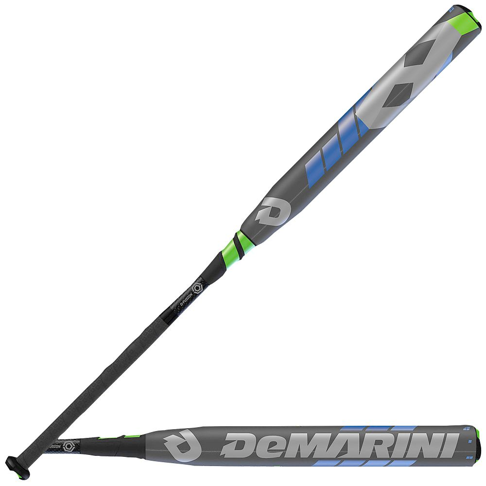 demarini-2016-cf8-fastpitch-bat-10-grey-optic-blue-optic-green-white-softball-bat DXCFP2232-16 DeMarini B00UX18N8M The leader in Fastpitch continues to lead the pack with the
