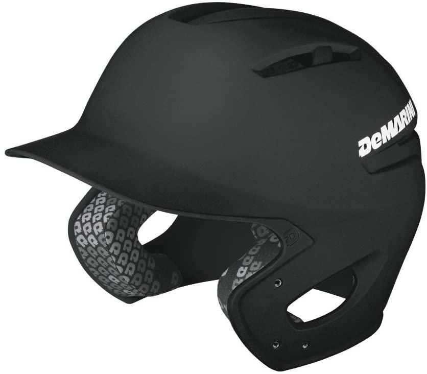 demarini-paradox-adult-batting-helmet-small-medium WTD5403BLSM DeMarini  Low profile design Superior for fit Premium rubberized matte finish Strategically