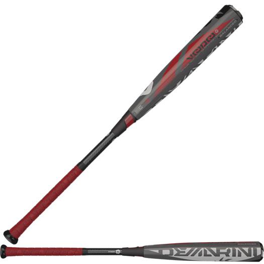 demarini-voodoo-balanced-bbcor-3-drop-baseball-bat-grayredblack-32-in-29-oz DXVBC2932-7 DeMarini 887768486372 3 Length to Weight Ratio 2 5 8 Inch Barrel Diameter