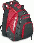 demarini voodoo rebirth baseball backpack scarlet