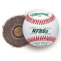 diamond-10-dozen-d1-nfhs-case-offical-baseballs-cushioned-cork-center D1NFHSCASE Diamond  Diamond 10 Dozen D1-NFHS Offical Baseballs 1dz Cushioned Cork Center