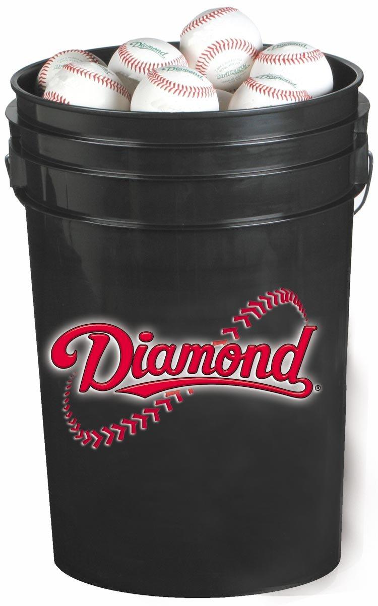 diamond-bucket-with-30-diamond-dbx-baseballs DBX-30-BUCKET Diamond 039403690051 Diamond Bucket with 30 DBX Baseballs. DBX baseballs are an excellent