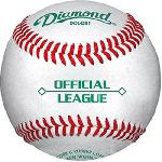 Diamond Dura cover Cork Rubber Core Raised Seam Baseballs DOL-DB1 Official League. Official League Cork rubber core Yarn wound Dura cover trade; Raised Seam Economy balls not suitable for pitching machine use.