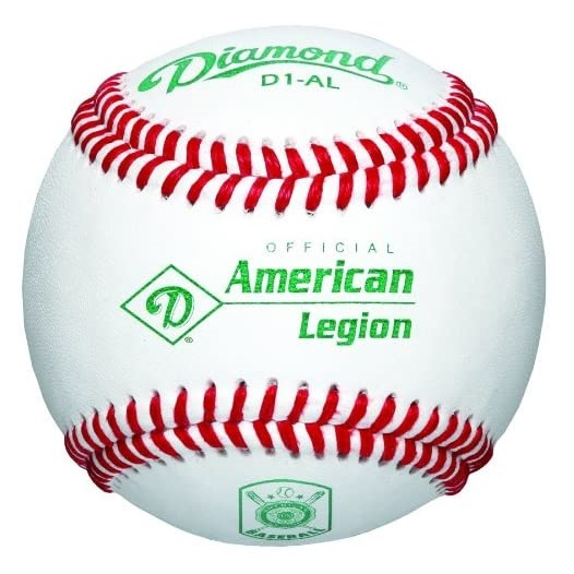 diamond-d1-al-american-legion-official-baseballs-1-dozen D1-AL-DOZ Diamond  Official Ball of the American Legion World Series Premium leather cover