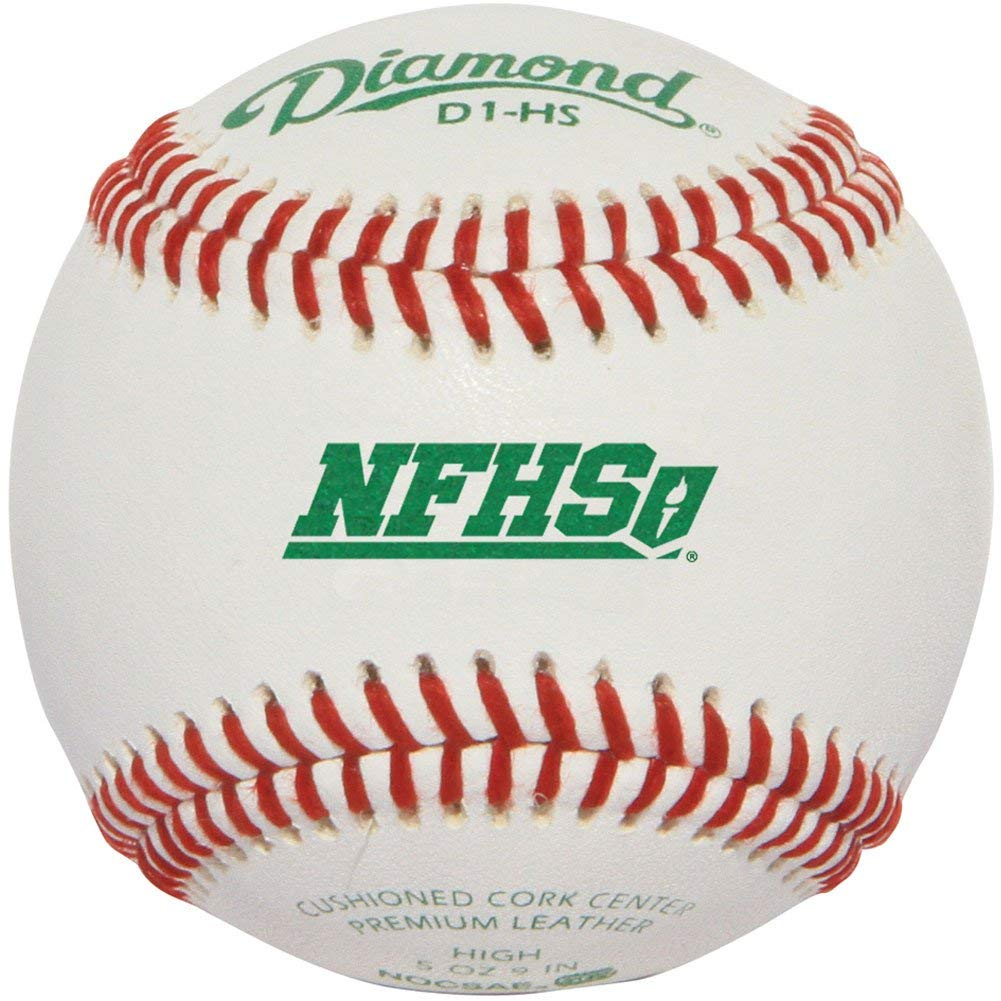 diamond-d1-hs-baseballgs-1-doz-nfhs D1-HS Diamond 039403111518 <p>PremiumA full-grain leather cover forA durability RaisedA seam construction for better