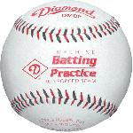 diamond dmbp leather pitching machine baseballs 1 dozen
