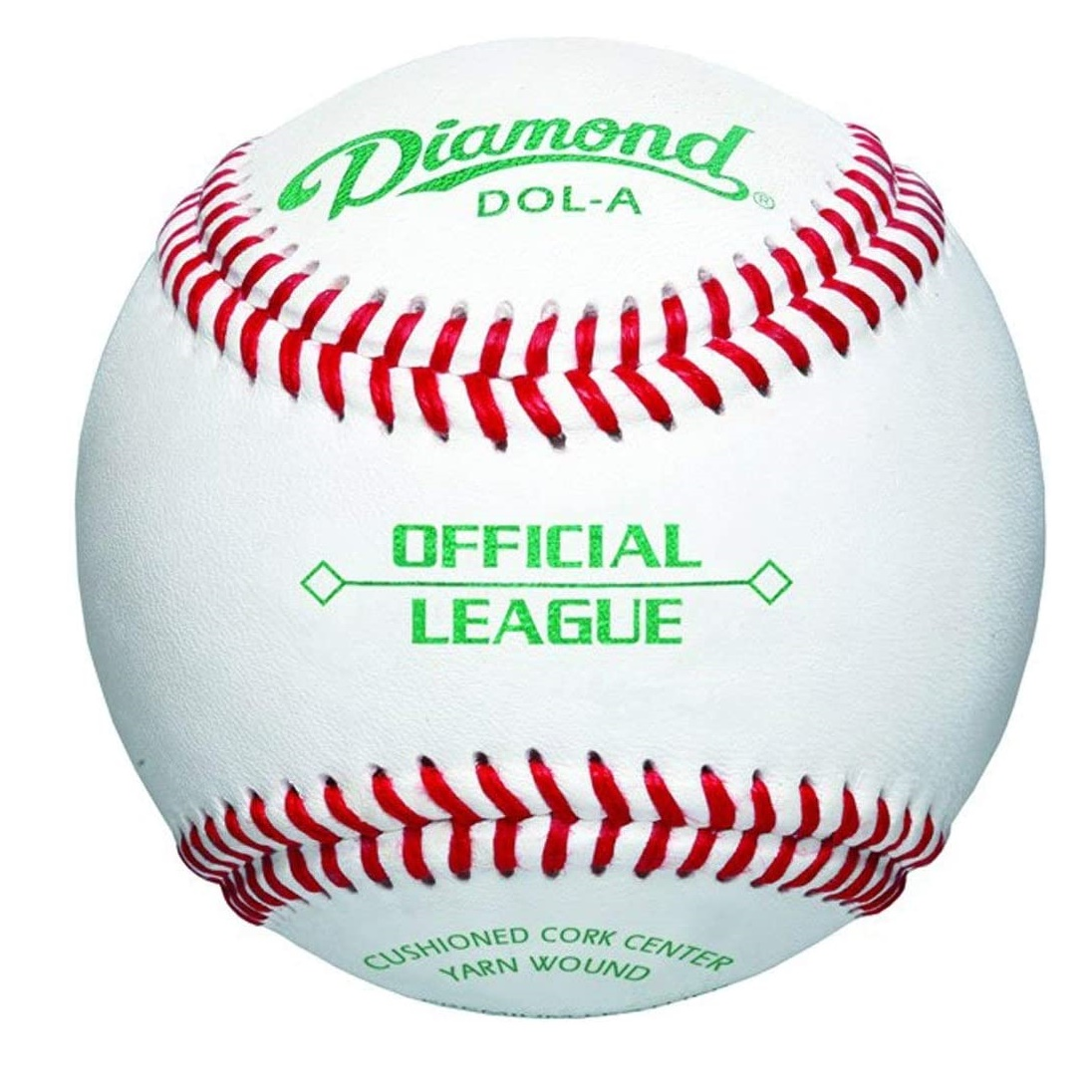 diamond-dol-a-official-league-leather-baseballs-1-dozen DOL-A-OL   <span>Diamond DOL-A Official Leaguel leather baseballs features durable full-grain leather cover