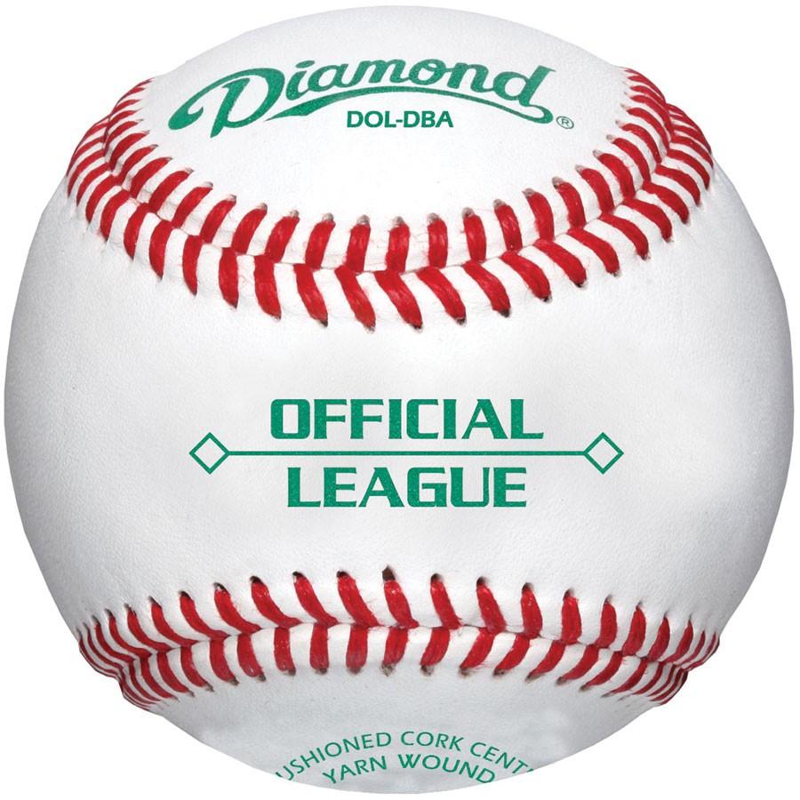 diamond-dol-dba-official-league-baseballs-1-dozen DOL-DBA-DOZ Diamond 039403196539 <p>Balls have a synthetic cover and a solid cork center.</p>